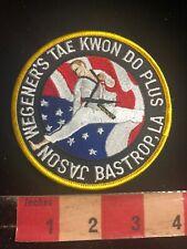 Jason Wegener'S Tae Kwon Fo Plus Bastrop Louisiana Martial Arts Patch 01Rn