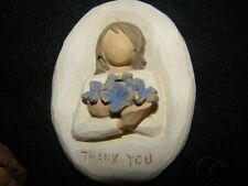 New Willow Tree 26154 Thank you plaque - New in box