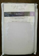 Jaclyn Smith Collection Bedskirt King 78 x 80 + 15 - New 100% cotton sateen