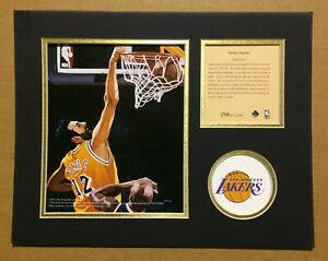 Los Angeles Lakers Vlade Divac Basketball 11x14 Kelly Russell Lithograph Print