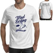 Wind Surfing Surfboard Mens Printed T-Shirt