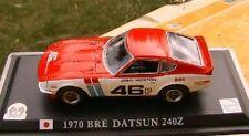 DATSUN 240Z BRE #46 1970 NISSAN JOHN MORTON RED WHITE 1/43 DELPRADO