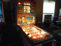 1961 Bally Lido Bingo Pinball Machine
