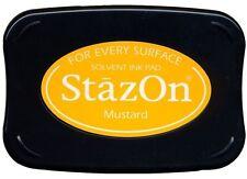 StazOn Solvent Ink Pad MUSTARD SZ-91 Tsukineko BRAND NEW!