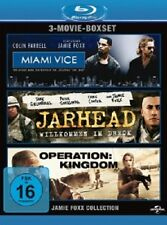 ACTORS BOX JAMIE FOXX 3 BLU-RAY MIAMI VICE, JARHEAD, OPERATION KINGDOM NEU