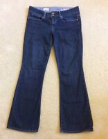 Women's Gap 1969 Perfect Boot Stretch Jeans Dark Wash Size 29/8a