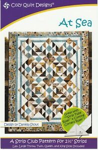 At Sea Quilt Pattern by Cozy Quilt Designs