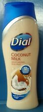 8 pk of Dial body wash coconut milk 16 oz  per bottle