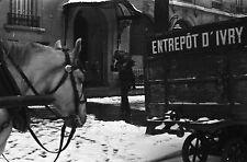 PARIS 1935 - Charbonniers Hôtel Ouvriers Voirie - 12 Négatifs 24x36 - 25-1-44