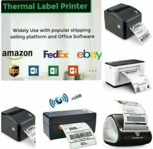 Etiketten Drucker USB Netzwerk Direkt Thermisch Barcode Ethernet 4x6inc