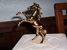 "Hagen Renaker Limited Edition Sr Feng Shui Golden Skywalker Horse 4 1/2"" Tall"