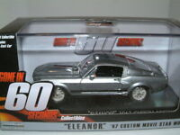 1/43 1967 FORD MUSTANG ELEANOR GONE IN 60 SECONDS  GREENLIGHT
