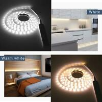Waterproof Battery Powered LED Strip Lights PIR Motion home Sensor Wardrobe J6B1