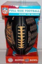 2008 Official Nfl Super Bowl Xlii 42 Champions History Full Size Football Nyg Ne