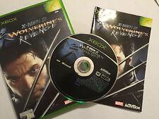Juego de xbox original PAL X-men 2 II Wolverine's Revenge + Caja Instrucciones Completo