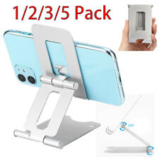 Universal Cell Phone Tablet Desk Stand Holder Mount Cradle Adjustable Foldable