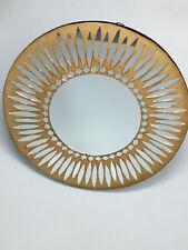 Ancien Miroir Vintage dans le Gout de Vautrin Mirror Glass Antique French