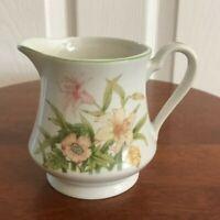 Shafford Fine Porcelain Jade Lily Creamer & Sugar Bowl with Lid