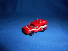 GERMAN FIRE FIGHTERS TRUCK #4 Emergency Vehicle Toy Plastic Toy Kinder Surprise