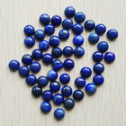 Wholesale 50pcs/lot 8mm natural Lapis Lazuli round CAB CABOCHON stones beads