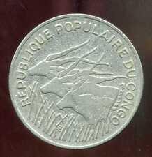 CONGO   100  francs 1972  ( 1 )