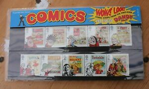 Comics 2012 presentation pack of Dany, Beano, Eagle etc. Stamps