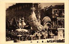 CPA Carnaval de NICE Le premier chant du matin (375464)