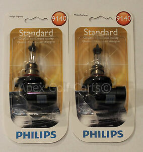 PHILIPS 9140 B1 X2 BULBS STANDARD VISION 40W HEADLIGHT HALOGEN OEM 12V FOG LIGHT