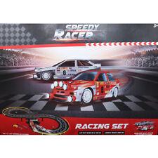 Rennbahn Speedy Racer 232 cm Komplettset Auto Rennstrecke