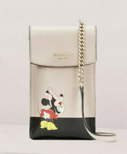 Kate Spade Disney minnie mouse north south flap phone crossbody Bag NWT
