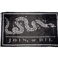 RUF Liberty Or Death Black Betsy Ross III 100D Woven Poly Nylon 3x5 3/'x5/' Flag