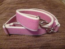 Adulto Chicas para niños y hombres 25 mm Crema Rosa Cinturón Elástico Serpiente XL XXL XXXL BB1