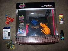 Aqueon Neoglow Aquarium Kit Cube 7.5 gal everything plus extra over $100 big box