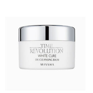 Missha Time Revolution White Cure Rich Oil Cleansing Balm Heavy Makeup Remover