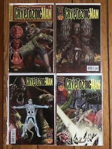 Cryptozoic Man 1 2 3 4 2nd Print Variant Set Johnson Flanigan AMC Comic Book Men