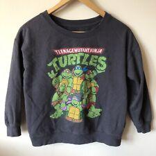 Teenage Mutant Ninja Turtles Gray Sweatshirt Juniors Small 2011 Forever 21