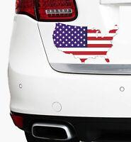 USA Flagge 20x12cm New Auto Aufkleber Sticker Amerika Folie Fahne US Staaten