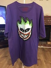 Spitfire Shirt Large Purple Joker Face. Very Rare. Jokers