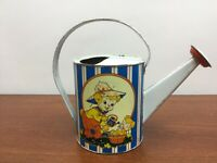 Antique Tin Watering Can Ohio Art  Watering can Vintage Bears Kids