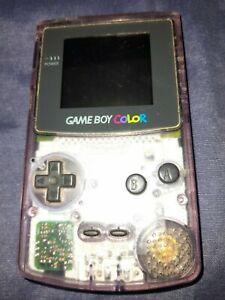 Game Boy Color transparente + 8 jeux