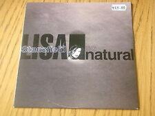 "LISA STANSFIELD - SO NATURAL    7"" VINYL PS"