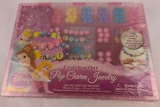 Disney Princess Create Your Own Jewelry Maker Set Beads Kit Bracelet Necklace