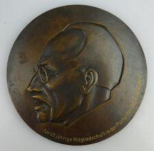 Medaille: Bronze für 40jährige Mitgliedschaft Partei Arbeiterklasse, Orden1695