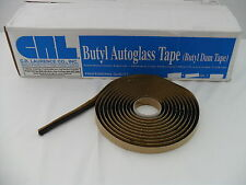 "Auto Glass Sealant / Adhesive / Butyl Tape 15' Roll Soft Seal 1/4"" round New"