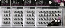 (4 packs) Ardell Double Individuals knot-free Medium Black (56 Lashes) 61485