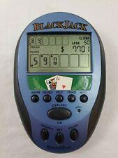 Excalibur Electronic Black Jack Poker Electronic Handheld Game Model 472