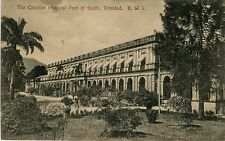 Trinidad Port of Spain - Colonial Hospital old postcard