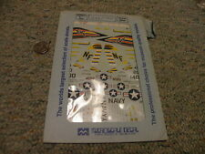 Microscale decals 1/72 72-316 F-4 A-7 of Carrier Air Wing 4  F24