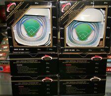 (6) 1991 Topps Stadium Club Special Stadium Dome Set Ramirez RC