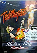 Ted Nugent - Motor City Mayhem: 6,000th Concert NEW DVD, CONCERT 2008 LIVE ROCK